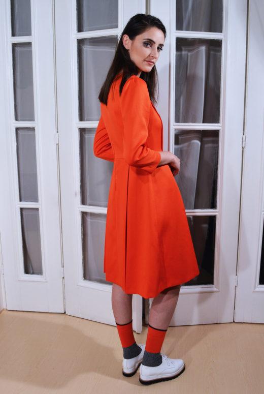 Rochie orange 2