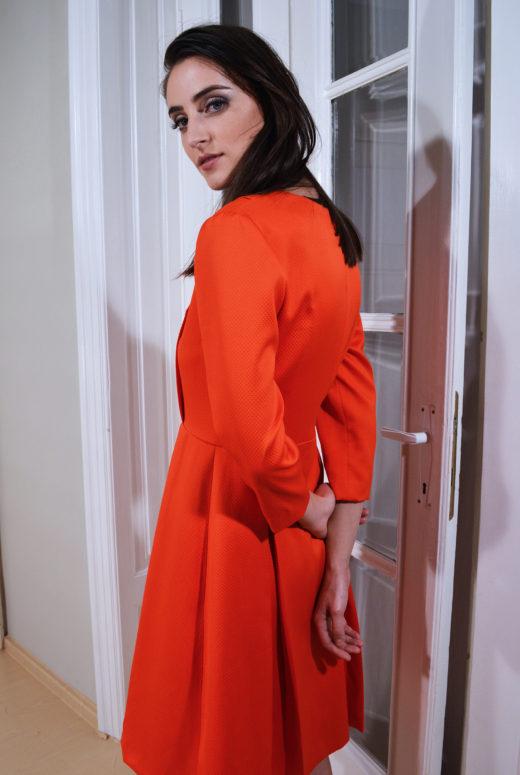 Rochie orange 3